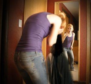 jesus og meg i speilet